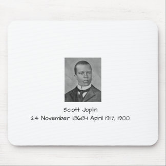 Scott Joplin Mouse Pad