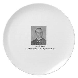 Scott Joplin Plate