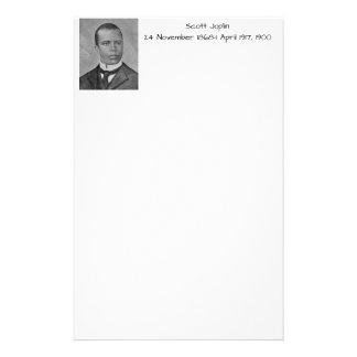 Scott Joplin Stationery