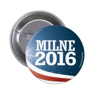 Scott Milne 2016 6 Cm Round Badge