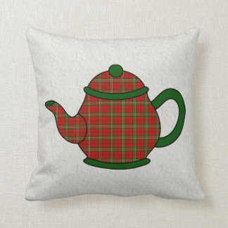 Scott Tartan Plaid Teapot Cushion