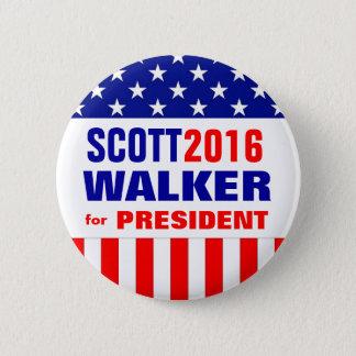 SCOTT WALKER 2016 6 CM ROUND BADGE