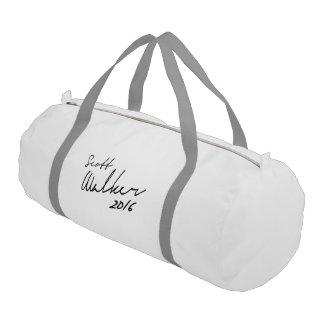 Scott Walker Autograph 2016 Gym Duffel Bag