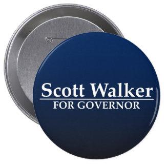 Scott Walker for Governor 10 Cm Round Badge