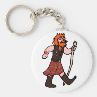 Scott Walker pun Basic Round Button Key Ring