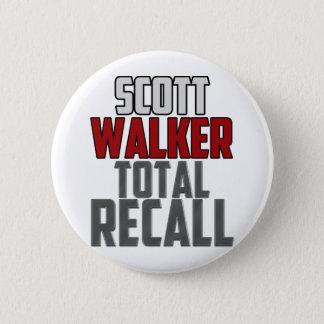 Scott Walker - Total Recall 6 Cm Round Badge