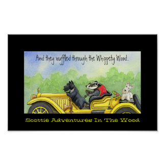 Scottie Adventures In The Whippety Wood Poster