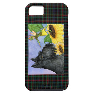 Scottie and sunflower fairy tough iPhone 5 case
