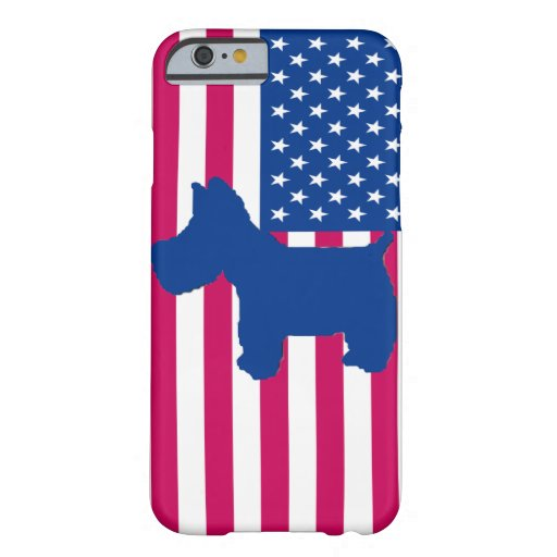 Scottie Born in the USA iPhone 6 Case