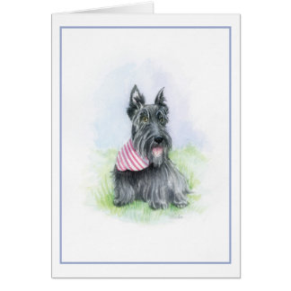 Scottie Contentment Card