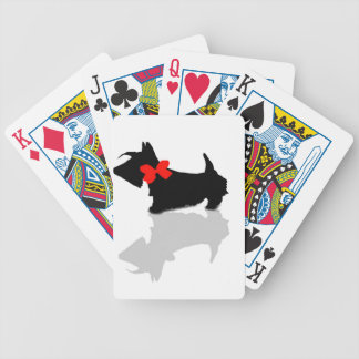 Scottie Dog Bicycle Playing Cards