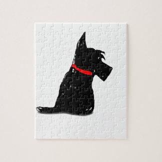 Scottie Dog Jigsaw Puzzle