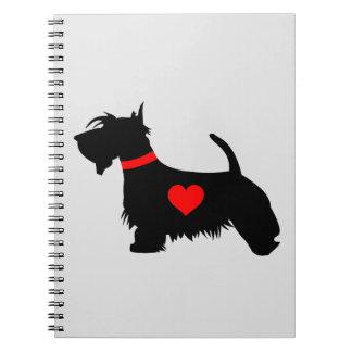 Scottie Dog Notebook