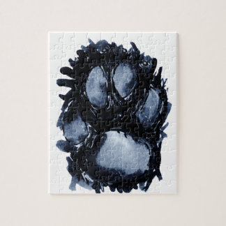 Scottie Dog Paw Jigsaw Puzzle