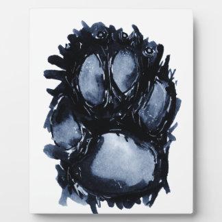 Scottie Dog Paw Plaque