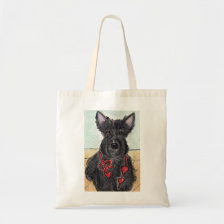 Scottie Dog Scottish Terrer Bag birthday painting