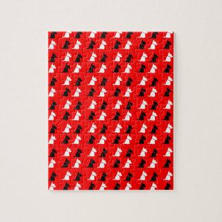 Scottie Dogs Jigsaw Puzzle