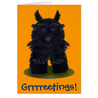 Scottie Grrrreetings! Card
