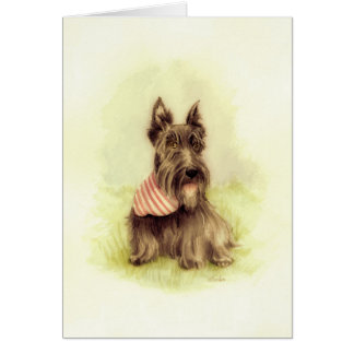 Scottie Happiness Card