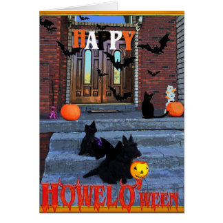 Scottie Happy Howel O'ween Card