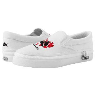 Scottie Love Personalize Slip-On Shoes