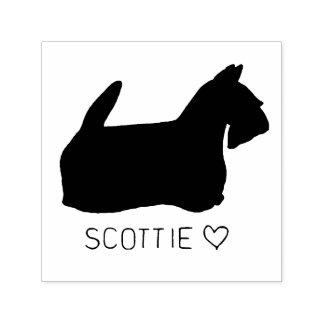 Scottie Love Self-inking Stamp