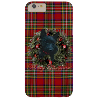 Scottie Merry Christmas Barely There iPhone 6 Plus Case