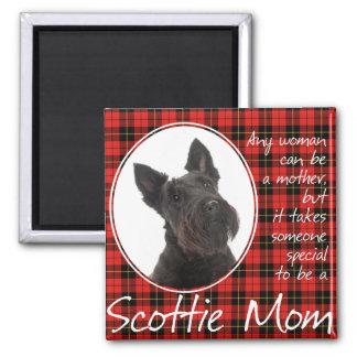 Scottie Mom Magnet