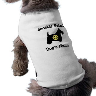 Scottie Patrol Personalize Shirt
