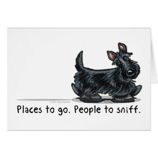 Scottie People To Sniff Card