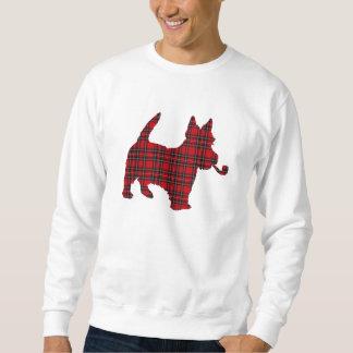 Scottie Scots Terrier Tartan Dog Sweatshirt