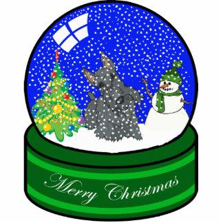 scottie snow globe photo cutouts