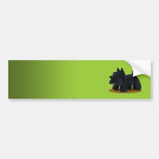Scotties Designer - Customized Bumper Sticker