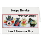 Scotties Rock Birthday Card