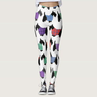 Scotties, Scotties, Scotties Leggings