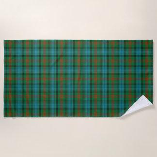 Scottish Accents Clan Ross Tartan Beach Towel