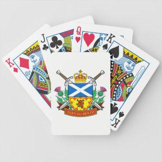 "Scottish ""Alba gu bràth"" Bicycle® Poker Cards"