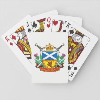 "Scottish ""Alba gu bràth"" Playing Cards"