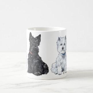 Scottish and West Highland White Terrier Mug
