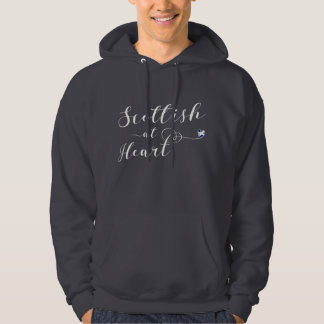 Scottish At Heart Hooded Top