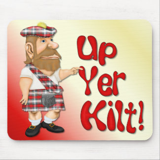 Scottish Attitude Mouse Pad