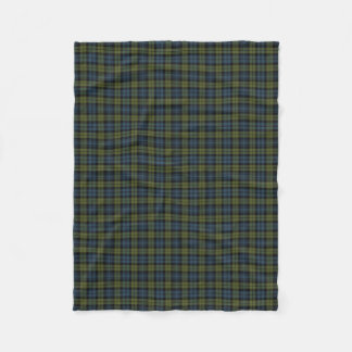 Scottish Campbell Classic Tartan Fleece Blanket