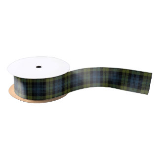 Scottish Campbell Classic Tartan Satin Ribbon