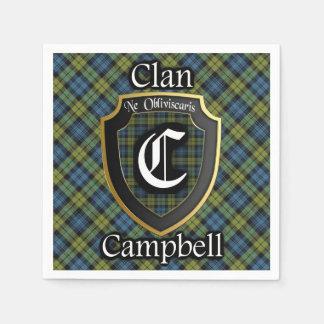 Scottish Campbell Tartan Napkin Disposable Napkin