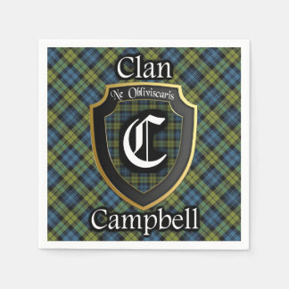 Scottish Campbell Tartan Napkin Paper Serviettes