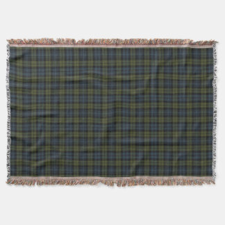 Scottish Campbell Tartan Throw Blanket