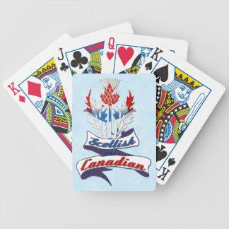 Scottish Canadian Thistle Card Deck