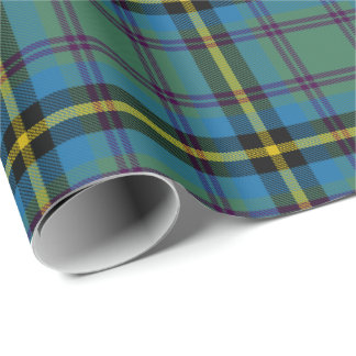 Scottish Carrick Hunting Plaid Tartan Wrapping Paper