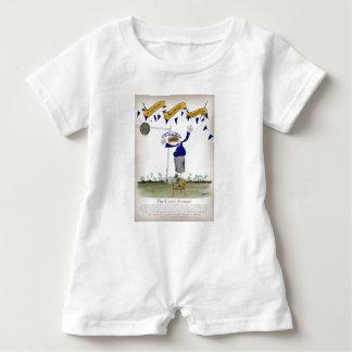 scottish centre forward footballer baby bodysuit