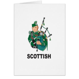 scottish chap card